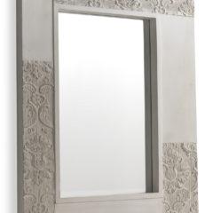 Espejo Blanco Con Detalles