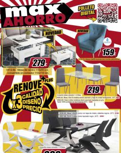 Catálogo De Muebles Max Ahorro Renove Plus