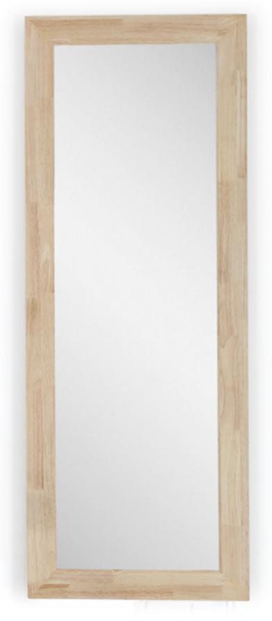 Espejo De Madera Natural