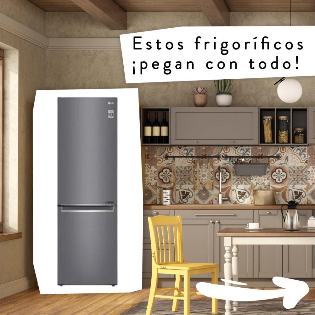 estos frigoríficos pegan con todo