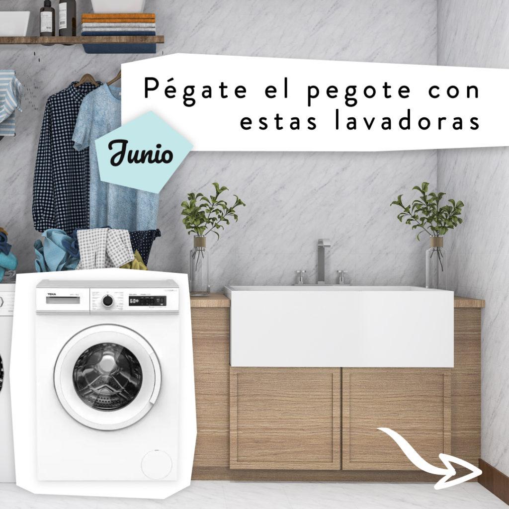pégate el pegote con estas lavadoras