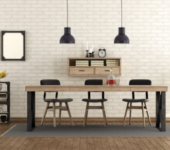 Dining Room In Industrial Style